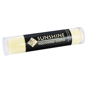 Yellow Sunshine® Polishing Cloths Tubes and Displays